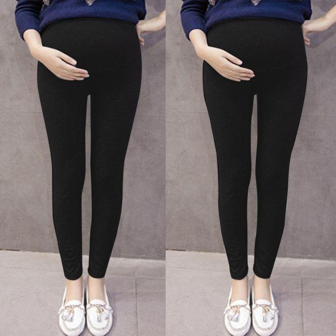 75de1fbc53705 Huskspo Pregnant Women's Pants Solid Color And Thin Maternity Pregnancy  Trousers