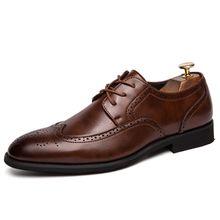 f855233f8b9c EUR Size 38-48 Formal Shoes Men Pointed Toe Men Dress Shoes Leather Oxford  Shoes