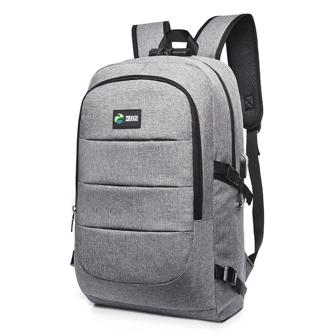 2df4cb95ac Laptop Backpack Travel Anti-theft Bag Rucksack With USB Charging Port Coded  Lock