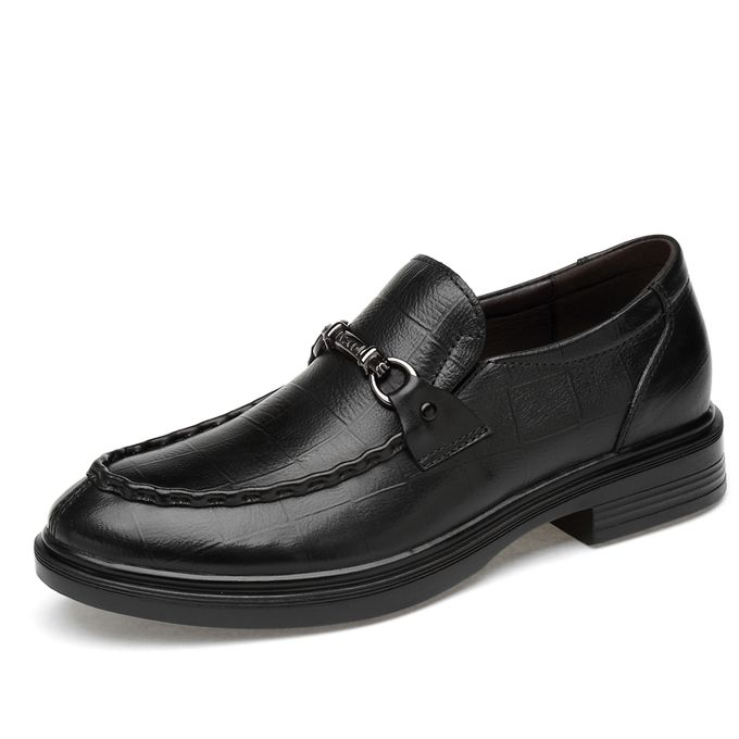 1178e1150 Soft Genuine Leather Loafers Shoes Men Casual Flats Men Oxfords Size 38-47