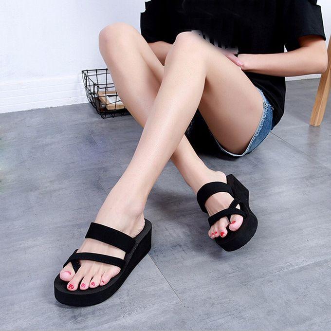 86b8106f8b1 Womens Summer Flip Flops Casual Slippers Flat Sandals Beach Open Toe Shoes