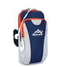 ed8bf421b52ff whiskyky store Outdoor Running Sport Running Wrist Pouch Bag Waterproof Arm  Package-Dark Blue