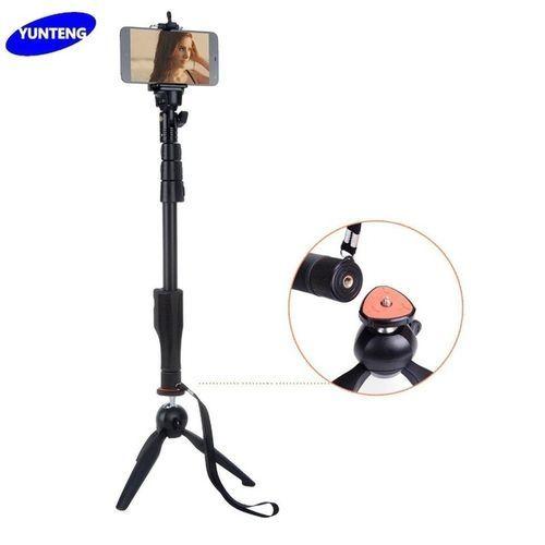Yunteng YT-1288 - Selfie Monopod + 228 Mini Tripod For Digital Cameras And Smartphones