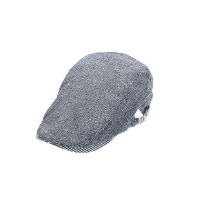 919143a8 New Mens Women Cotton Ivy Cap Newsboy Beret Cabbie Gatsby Flat Golf Driving  Hat Blue