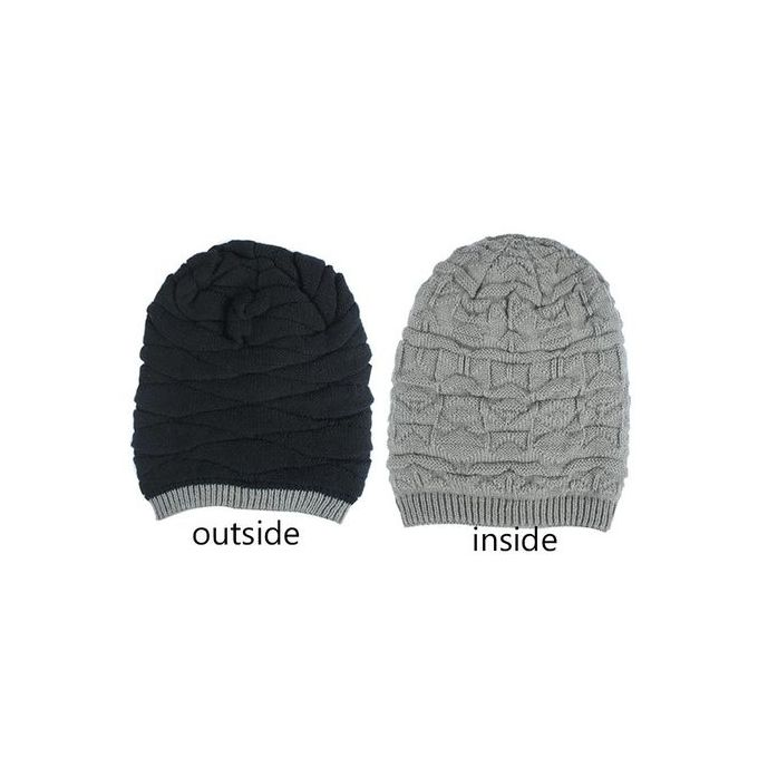 Fashion Xiuxingzi Winter Unisex Women Men Knit Ski Crochet Slouch Hat Cap  Beanie Hip-Hop Hat Solid. a3159b54b06