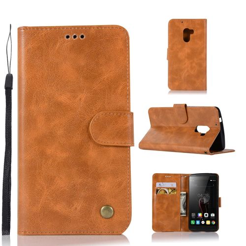 official photos 4481f e26c4 Casing For Lenovo Vibe K4 Note / A7010 / Vibe X3 Lite,Reto Leather Wallet  Case Magnetic Double Card Holder Flip Cover