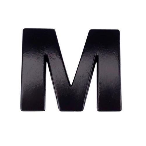 ac24aefa9069 3D DIY Metallic Alphabet Sticker Car Emblem Letter Silver Badge Decal BK M  Individuality