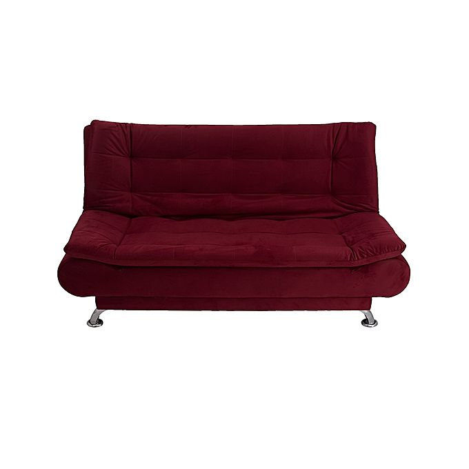 Art home 3 seaters sofa bed 190x120 cm burgundy buy for 80 cm sofa bed