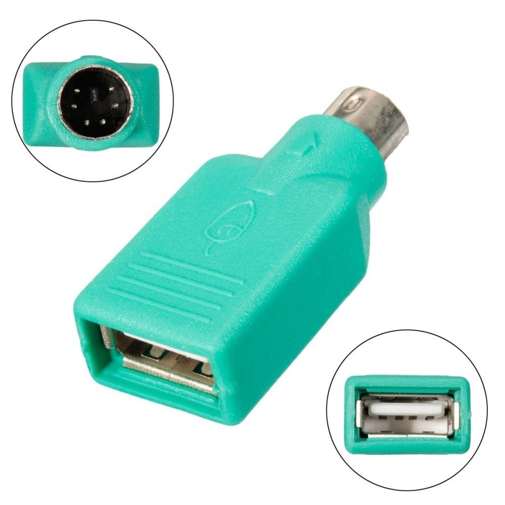 Universal Fast Ps2 To Usb 20 Adapter Converter For Mouse Keyboard Laptop Pc Computer Uk