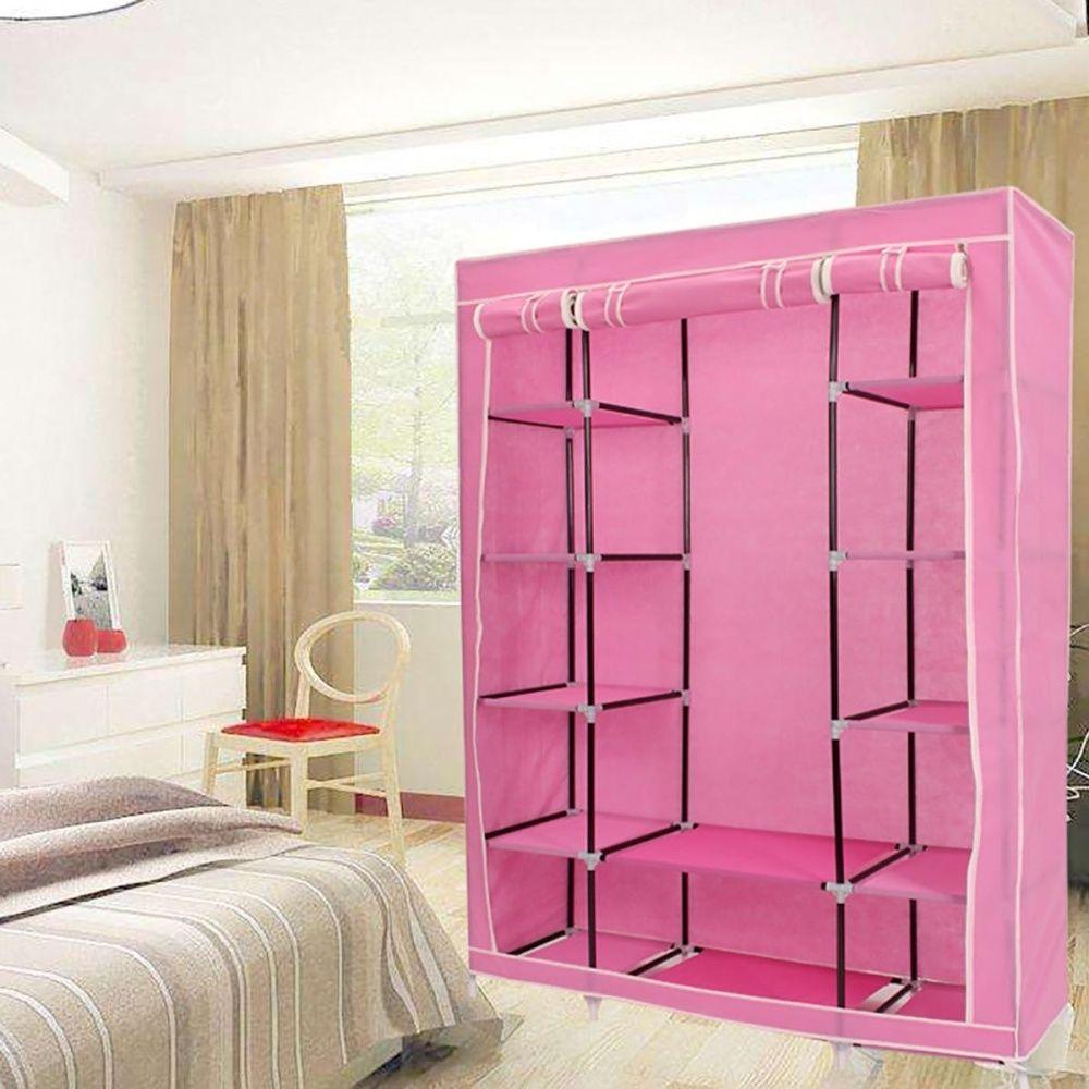 Universal Portable Closet Storage Organizers Wardrobe