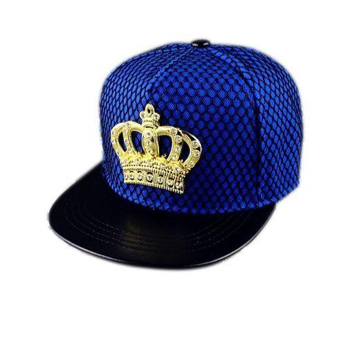 c9f9115add5 Fashion 1 PC Fashion Crown Snapback Baseball Cap Flat Hat Bone Sports  Fashion Indian Hip Hop Hats Peaked Cap Cool Men Women
