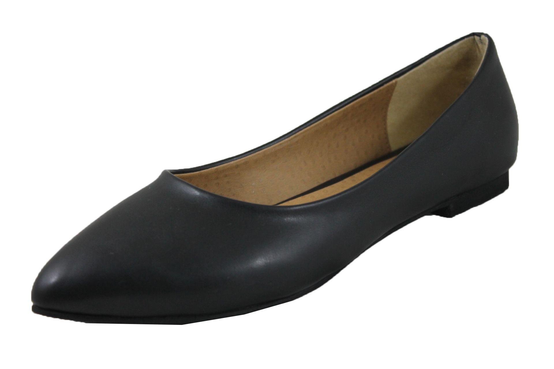 df0ba98f2a4bd سعر Shoebox حذاء كلاسيك فلات جلد طبيعى - اسود فى مصر