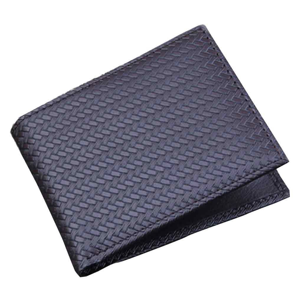 45b5f3efe Generic Tectores Fashion Men Bifold Business Leather Wallet ID Credit Card  Holder Purse Pockets Gift