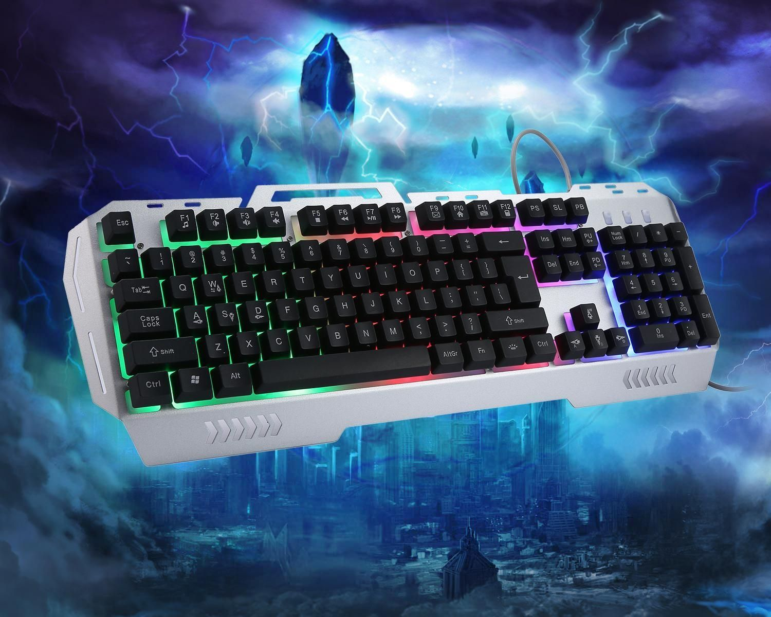 Louis Will K3 USB Wired Optical Gaming Keyboard And Mouse Set, LED ...