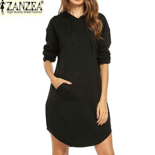 df6dbf4c7cc ZANZEA ZANZEA Women Autumn Sweatshirt Hoodies Sport Long Sleeve ...