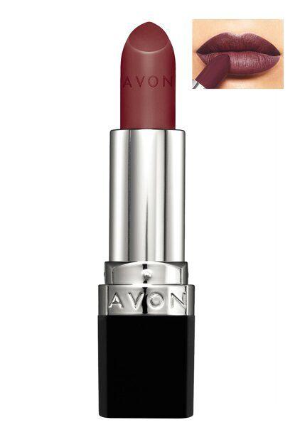 Avon True Color Perfectly Matte Lipstick Wistful Wine مستحضرات
