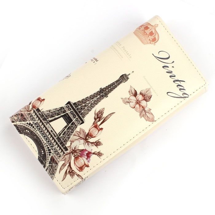 c2257fe5c542 Buy Generic Fashion Flower Tower Pattern Women Long Purse Clutch Wallet Bag  Card Holder in Egypt
