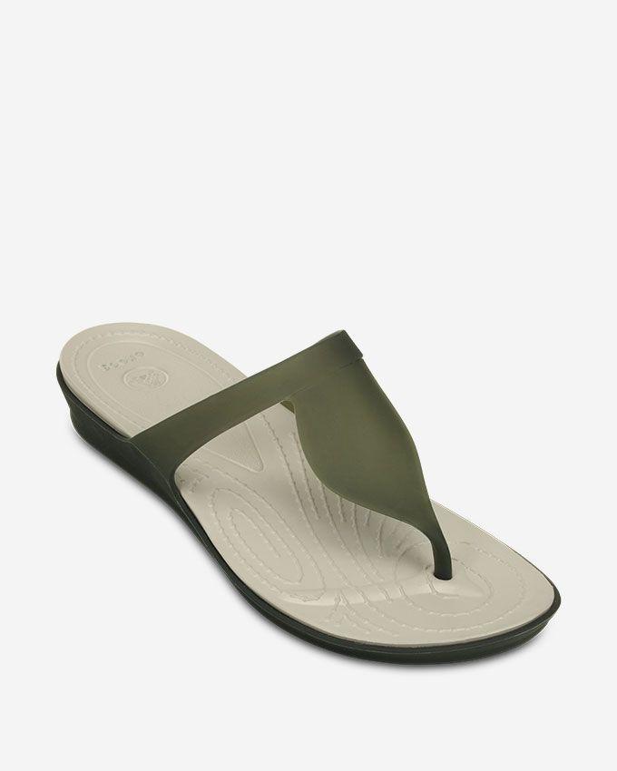 4a6a5caf35a6 Crocs Women Crocs Flip Flop - Grey. updating Prices