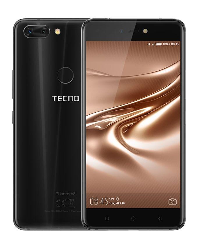 965dd2542 Tecno Phantom 8 - 5.5-inch - 64GB Dual SIM 4G Mobile Phone - Black