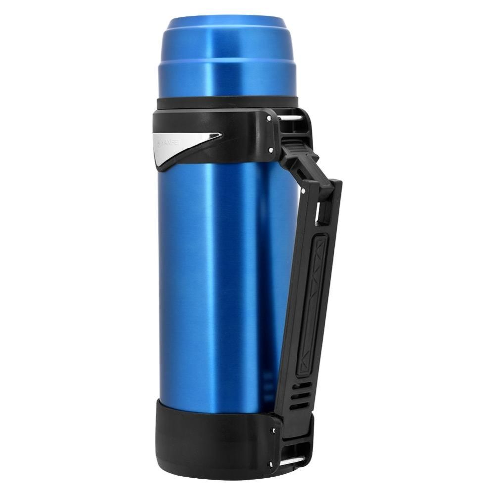 814201bdd5 Universal KAXIFEI 2L Stainless Steel Sport Travel Vacuum Kettle Thermal Jug  Insulated Water Bottle Blue