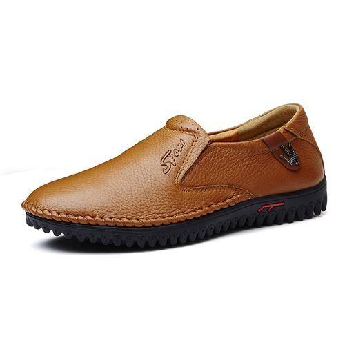 0ade746e4 سعر Tauntte Men Casual Genuine Leather Shoes Moccasins (Orange) فى ...