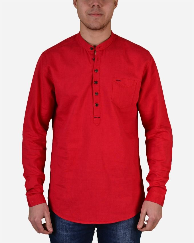 ce0fbc7befd Buy Town Team Thai Neck Shirt - Red in Egypt