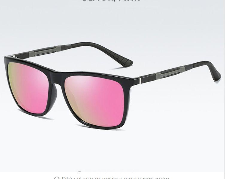 17c3813c5ba OEM New Arrivel Polarized Sunglasses Men Classic Women Square Glasses  Aluminium Magnesium Driving Travel Eyewear Gafas Oculos Pink UV400-pink