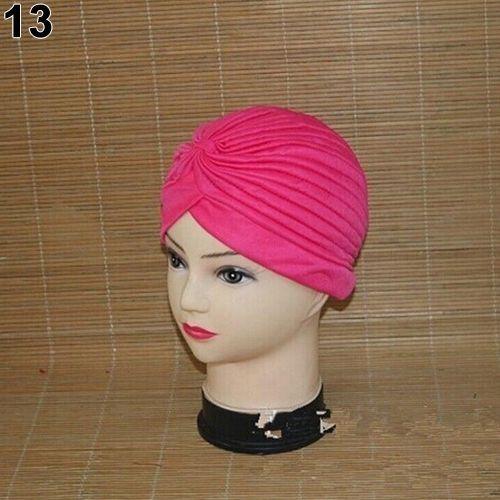 a3f10aae2d4 Sanwood Women Stretchy Hat Turban Head Wrap Band Chemo Bandana Hijab ...