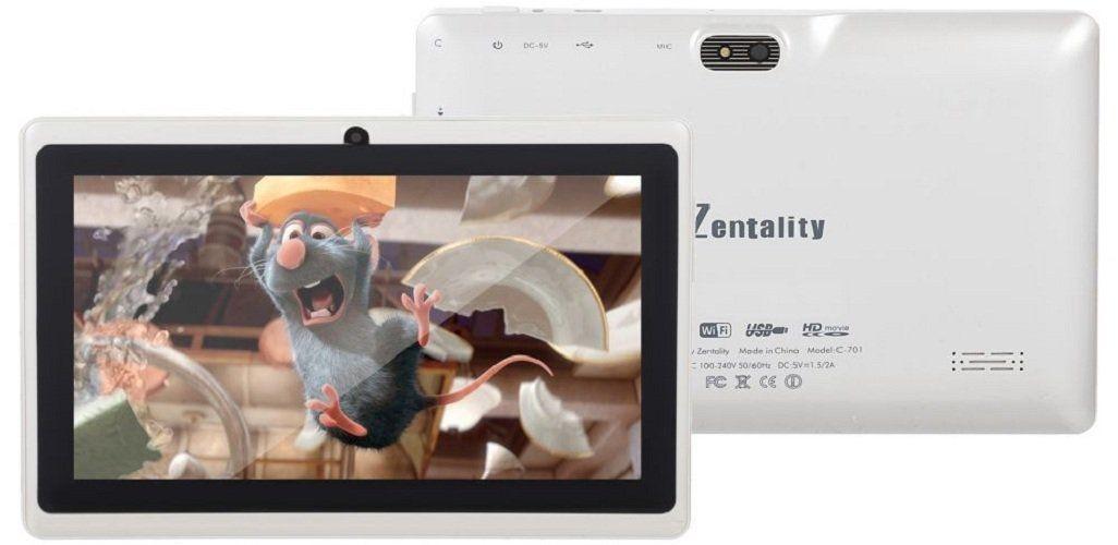 """Zentality C-701 - 7.0"""" - 8GB - 1GB Ram - Wifi - Tablet - White"""
