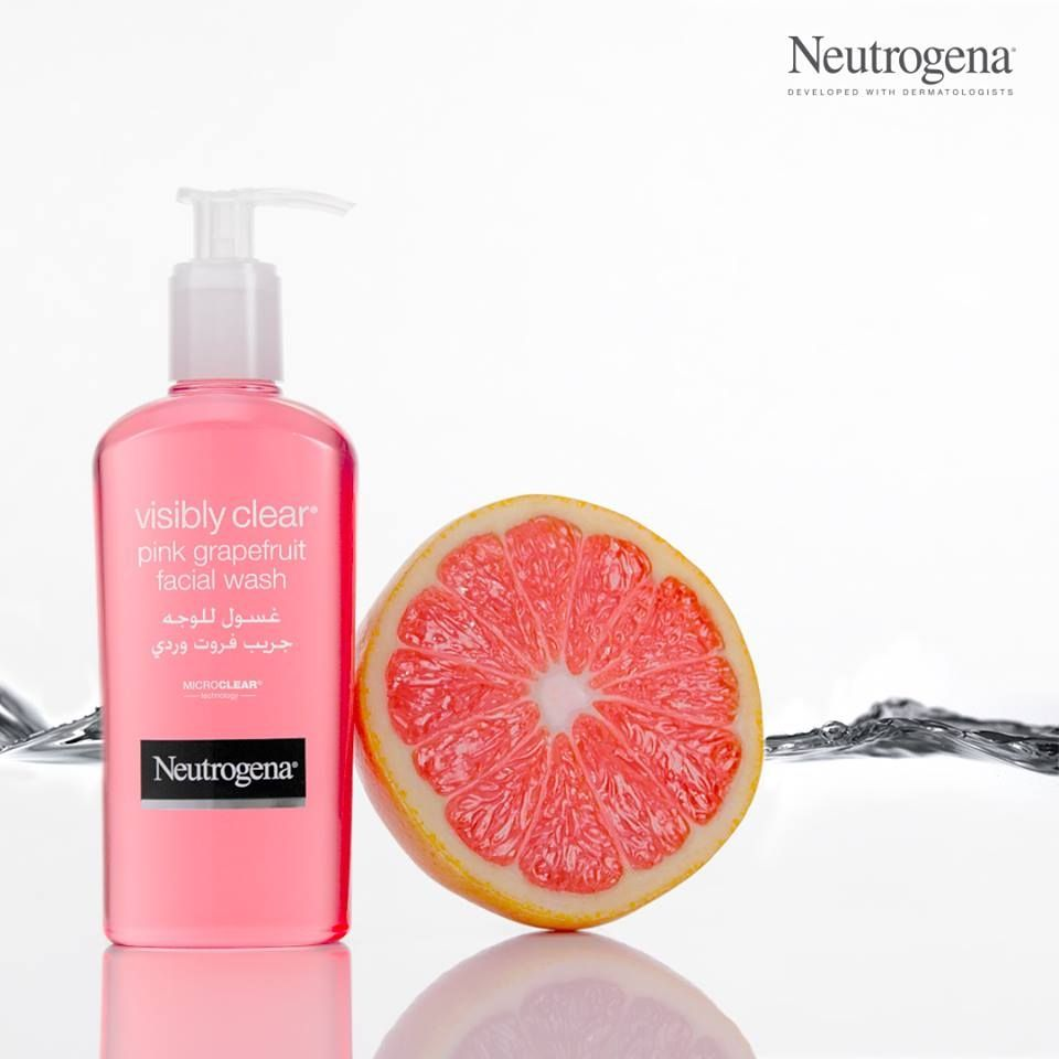 Neutrogena Visibly Clear Facial Wash 200ml Grapefruite Price In