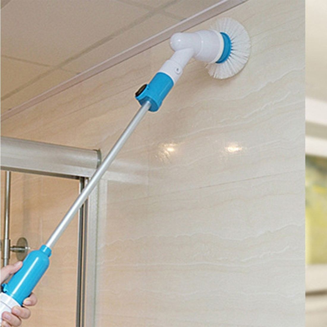Sunsky Multi-function Tub And Tile Scrubber Cordless Power Spin ...