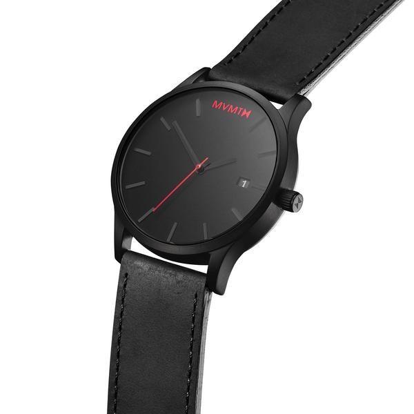 e60a7c52d سعر Mvmt ساعة جلد -للرجال-اسود فى مصر | جوميا | ساعات | كان بكام