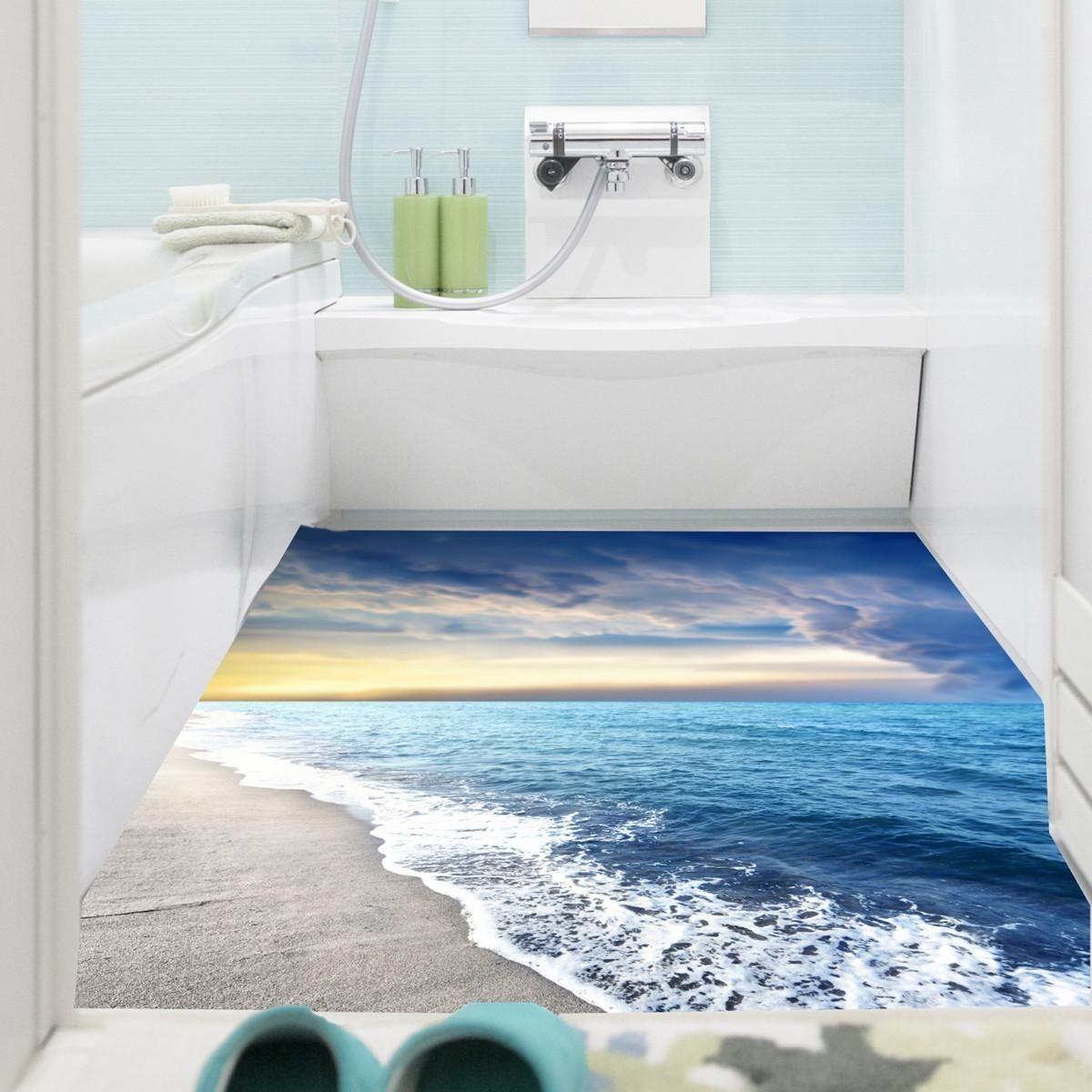 Generic Self Adhesive Tile Floor Wall Sticker 3d Decal Diy