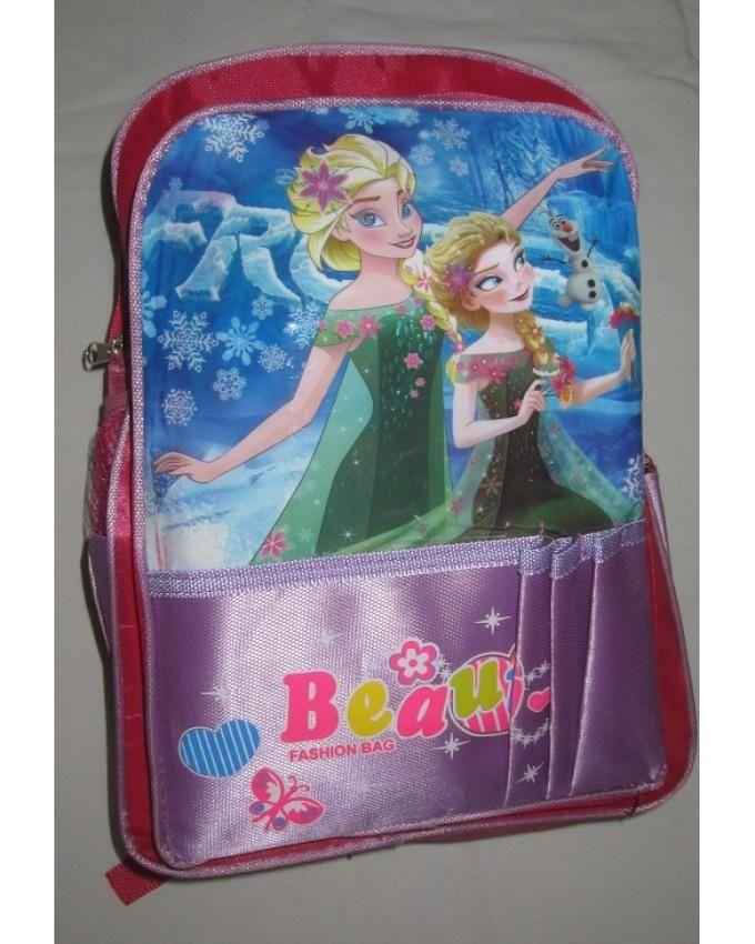 Generic Frozen Backpack Bag - Multicolor