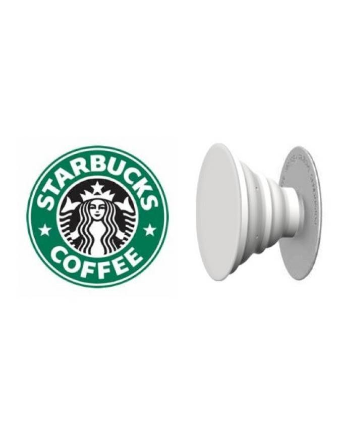 Generic Popsockets Starbucks Coffee With Holder Grip And Stand For Mobile Devices