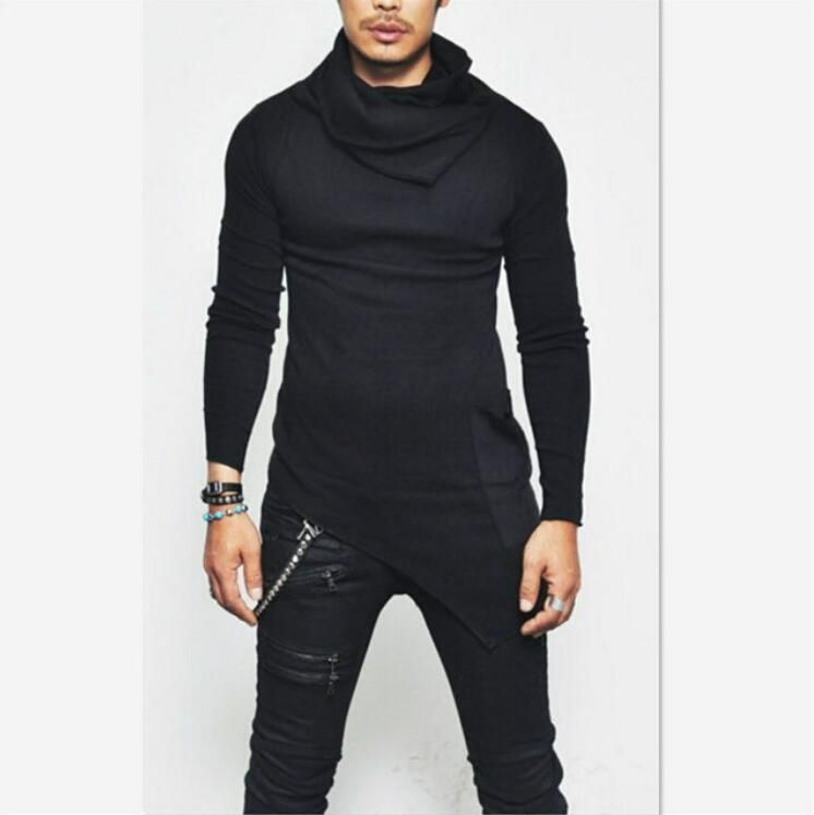 c25c4bcf4 سعر OEM أزياء كومة طوق قميص طويل الأكمام للرجال ملابس رجالية رمادي ...