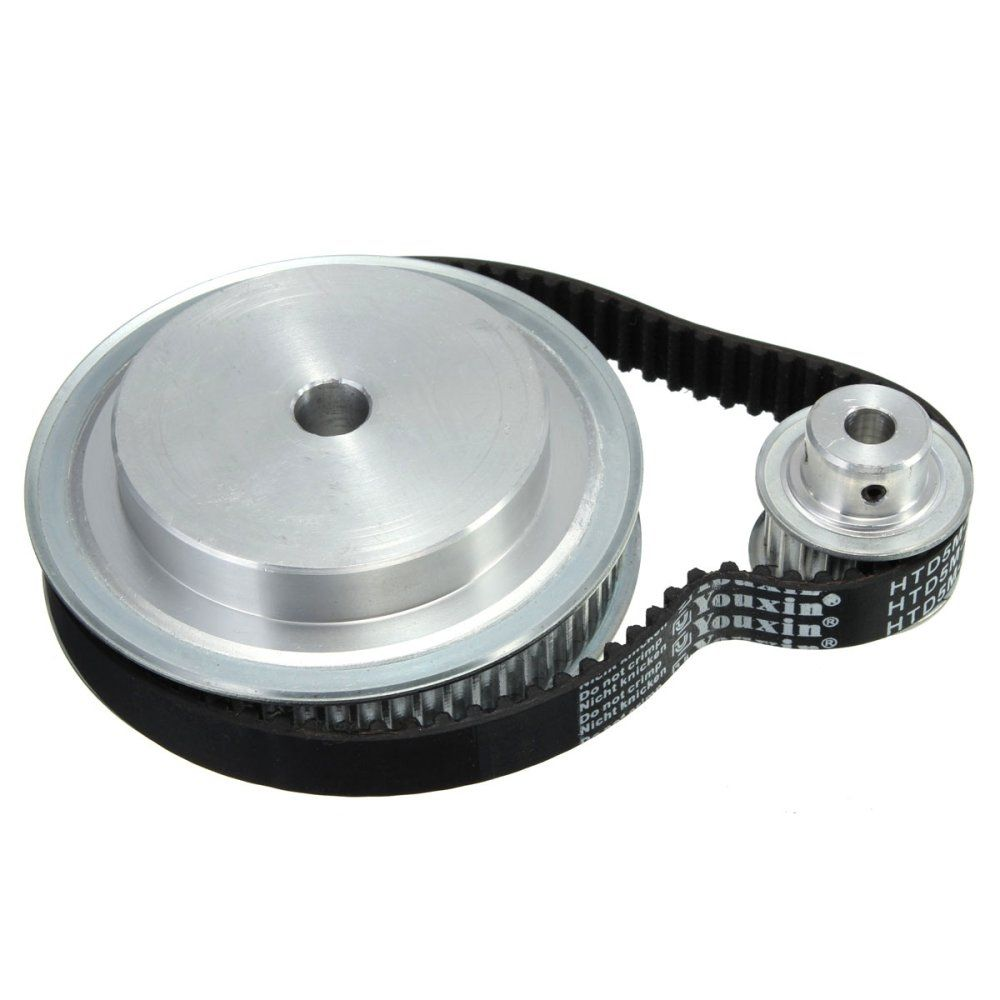 Universal 5m Timing Pulley Belt Set Kit Reducer Ratio 31 For Cnc Belts And Pulleys Engraving Machine Tool