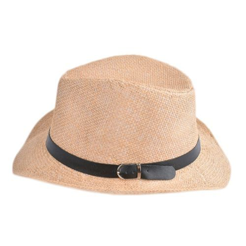 71758ff2bb823 Fashion Stylish Hat Summer Straw Hat Cap Topee Fedora Trilby Panama Hat Cap  Jazz Hat