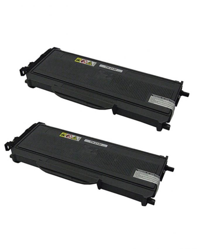 Generic 2 Pack of Replacement Toner Cartridge for Brother TN 2130 - Black