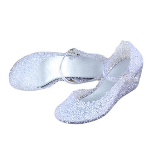 9c0f63d1bf Fashion New Arrival Summer Girls Wedge Jelly Shoes Beach Comfortable ...