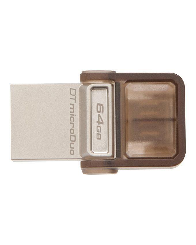 Kingston 64GB DataTraveler microDuo USB 2.0 OTG Flash Drive