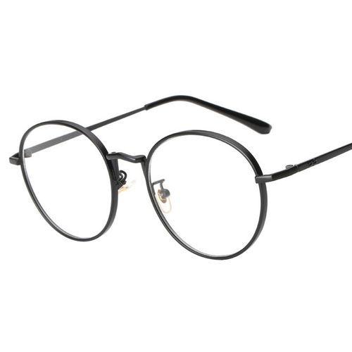0fd911656976 No Brand Generic Men Women Clear Lens Glasses Metal Spectacle Frame ...