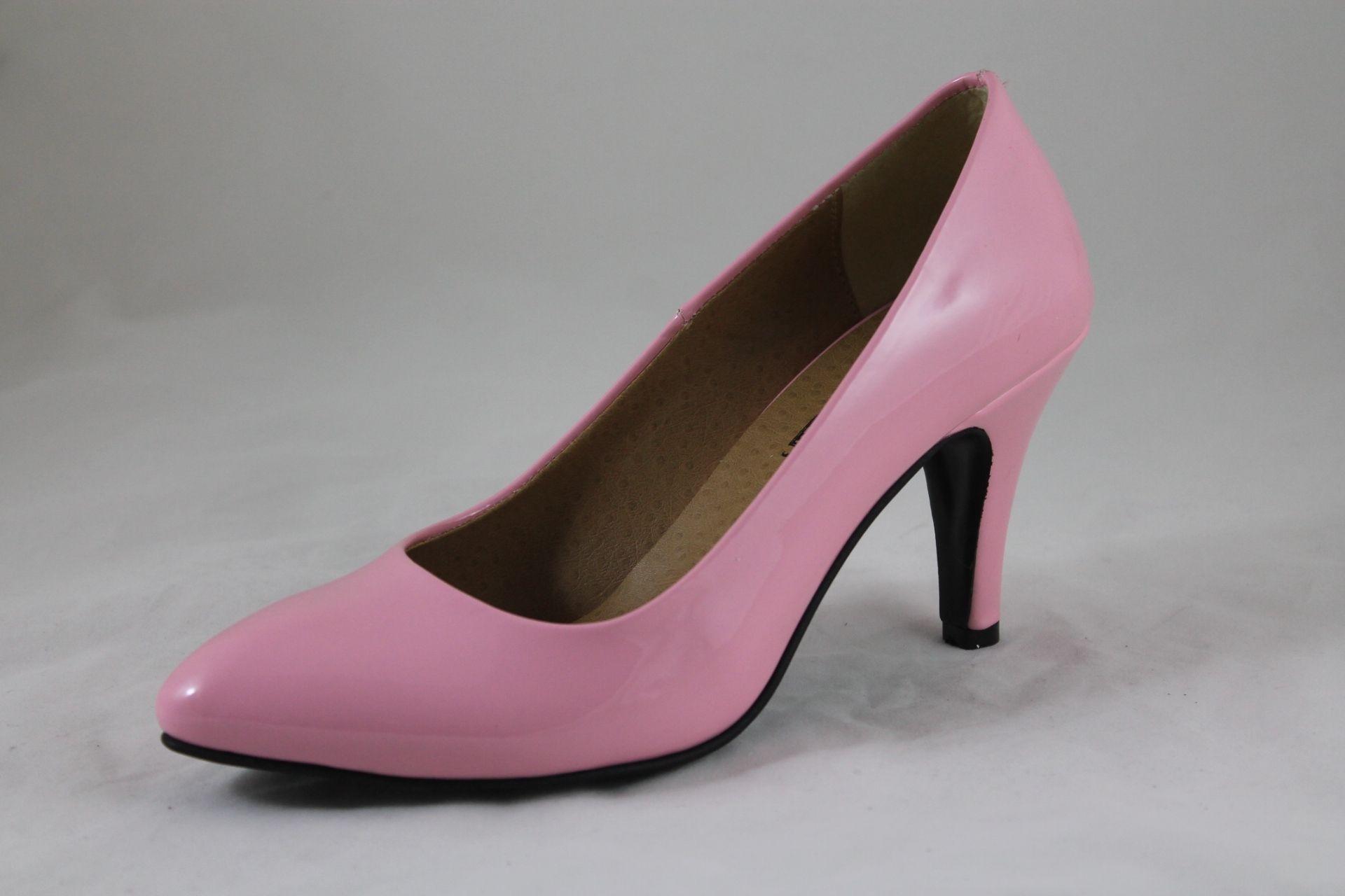 42a3037435797 سعر Shoebox حذاء كلاسيك بكعب عالي جلد فيرنية - بمبي فى مصر
