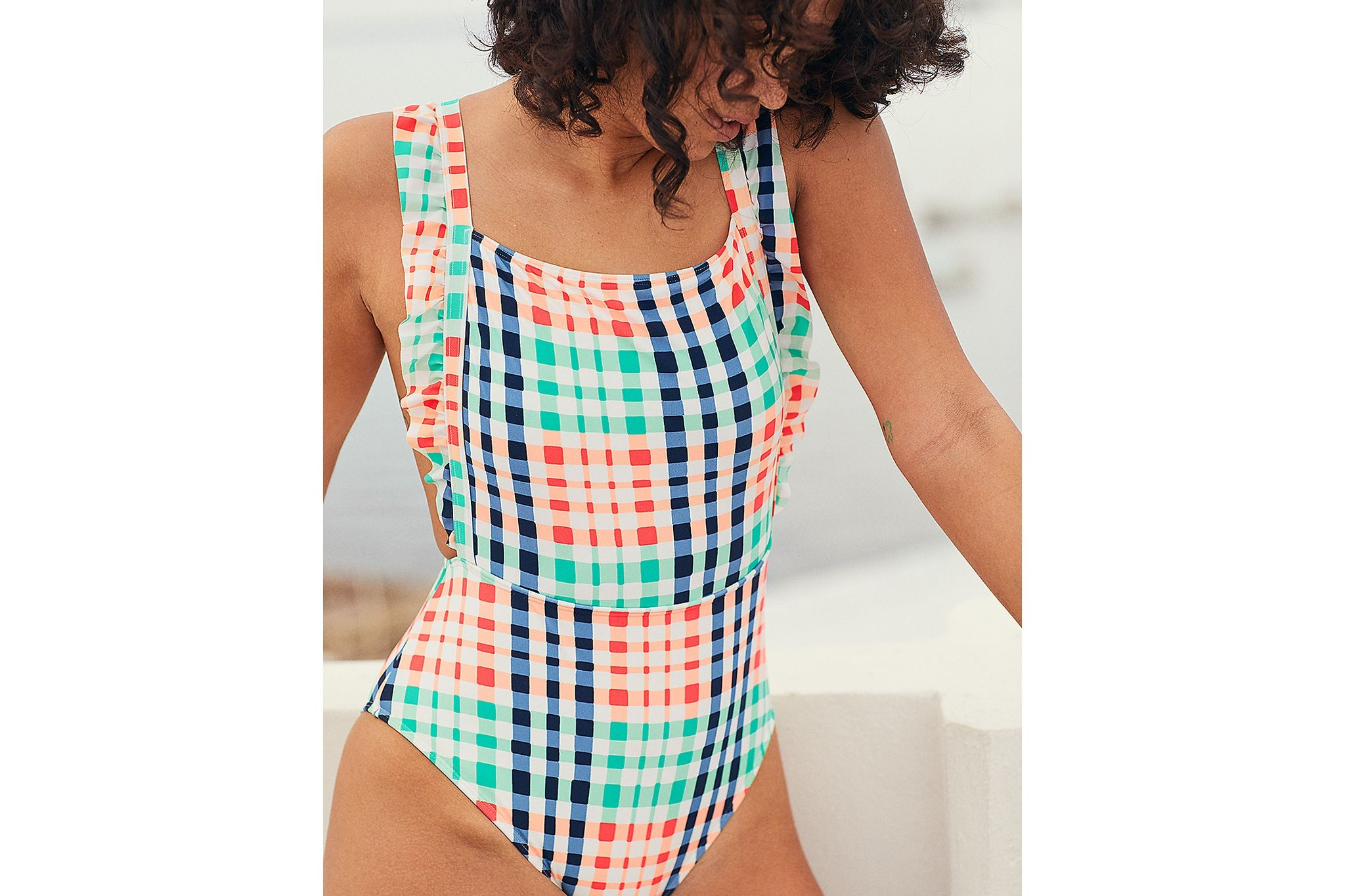 bf48e78c450 American Eagle Aerie Ruffle One Piece Swimsuit Price in Egypt ...