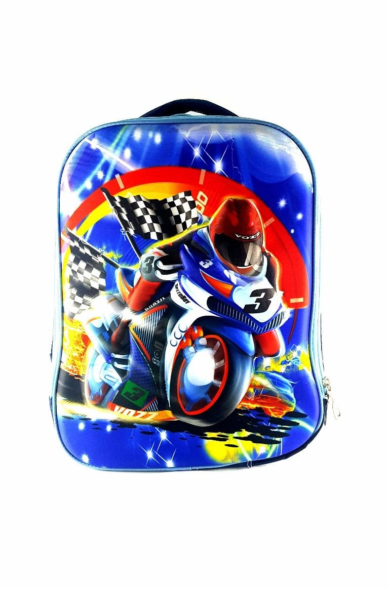 6b9504db6163 Buy Gifts and More 3D Moto Racing Backpack - 16 Inch in Egypt