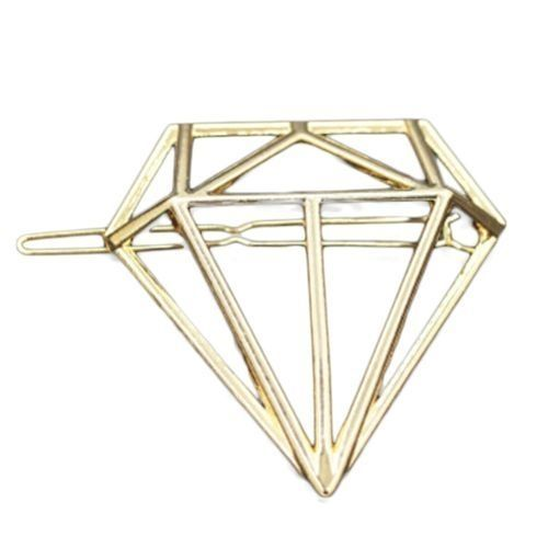 9d777fcc8d7c Fashion Tanson Stylish Headdress Hairpin Triangle Diamond Drill Type Metal  Top Edge Clip The New Korean Hair Accessories