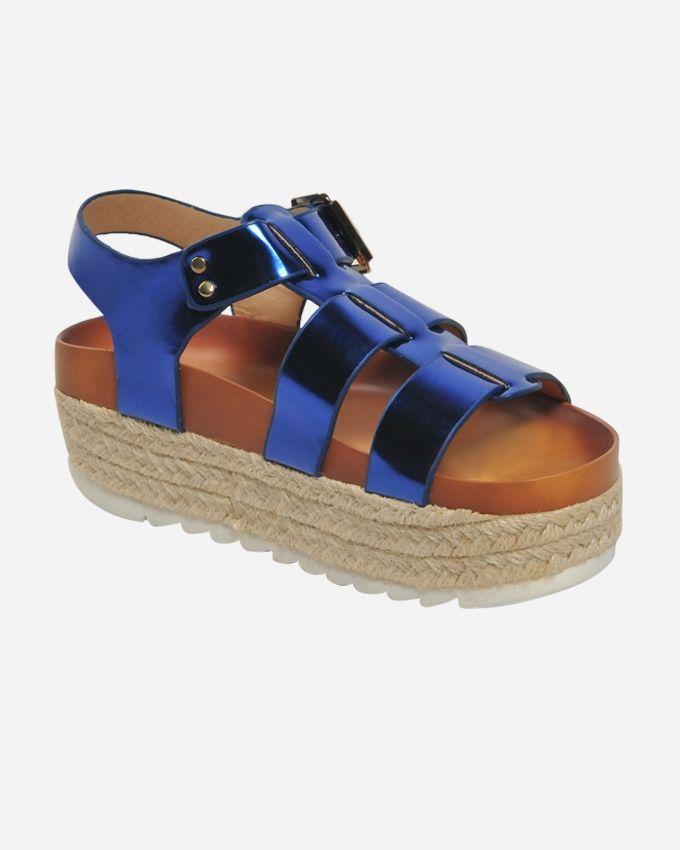 Club Shoes Flat Slipper - Blue
