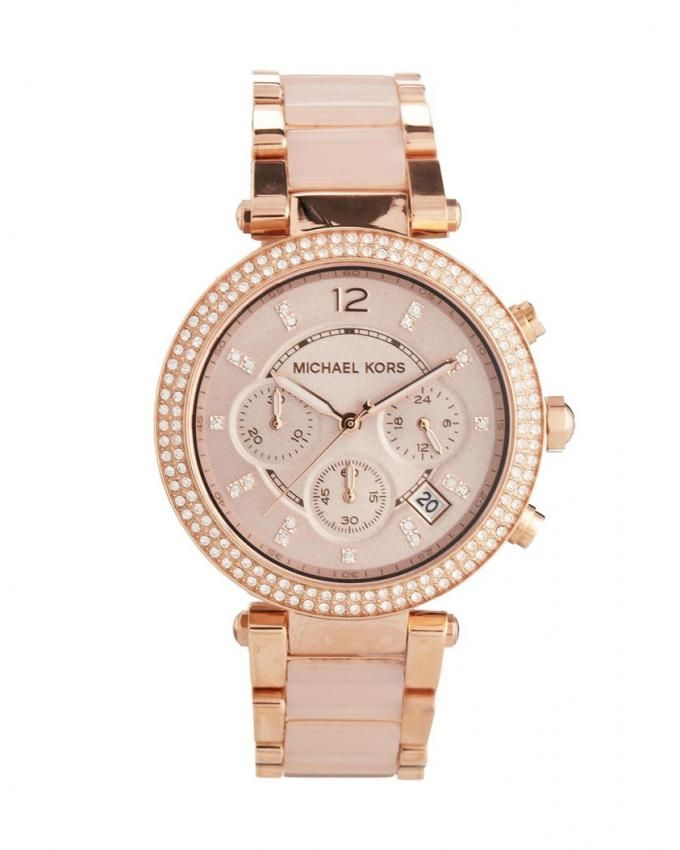 969f1005283d Michael Kors MK5896 Stainless Steel Watch - Rose Gold Price in Egypt ...