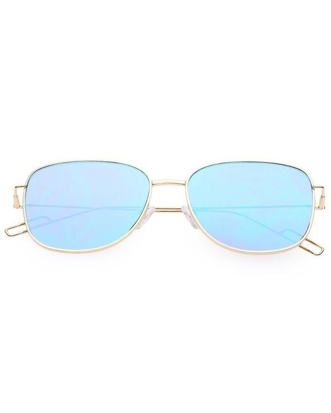 a9b70aebb838 Fashion Unisex Sunglasses Vintage Square Frame Blue Green