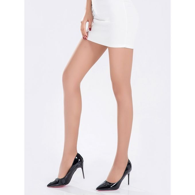 374c1e0a2704c Pinky Women s Tights 8D Transparent Anti-Snag High Waist Belly-In Comfy  Tights